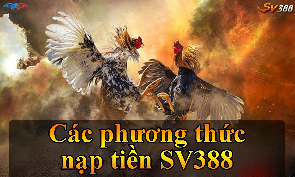 Các phương thức nạp tiền SV388