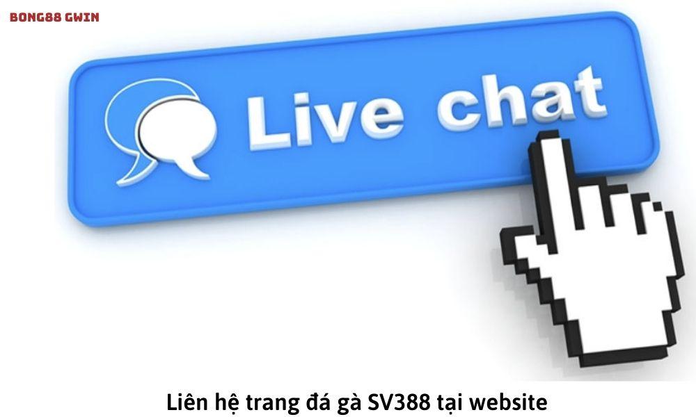 Liên hệ trang đá gà SV388 tại website